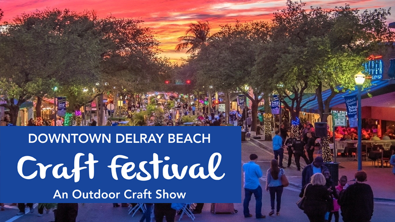 18th Annual Downtown Delray Beach, Nov 25th – 26th | Michael Solomon