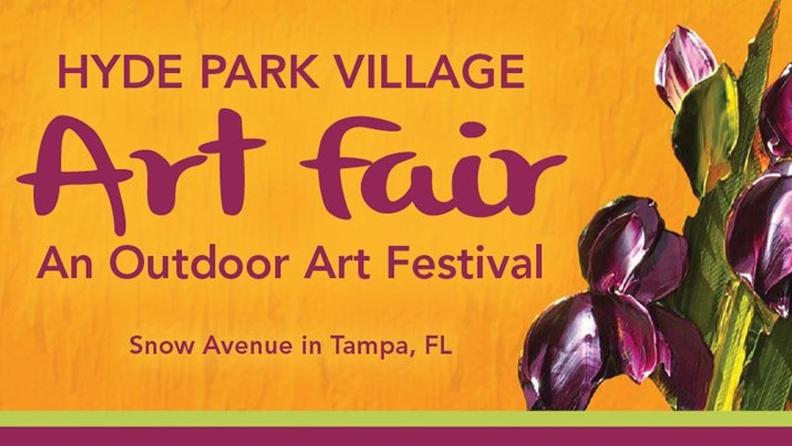 Hyde Park Village Art Fair/ Tampa  April 14th -15th, 2018