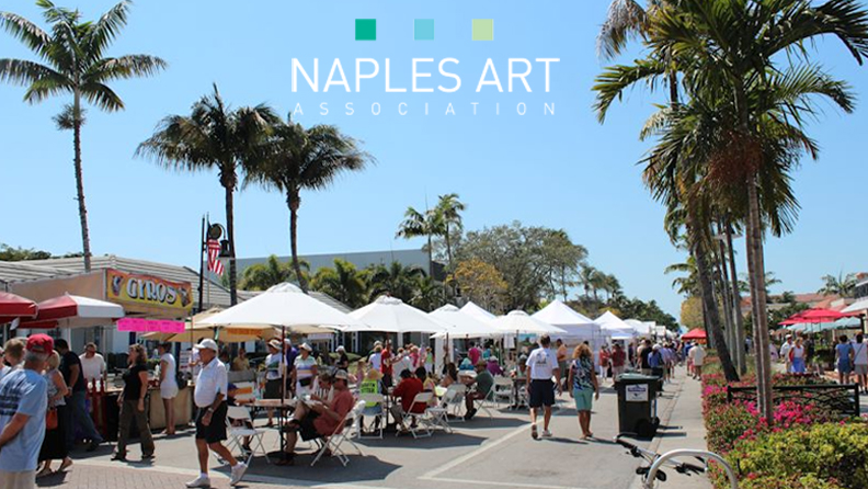 Naples Downtown Art Festival  March 24th – 25th, 2018