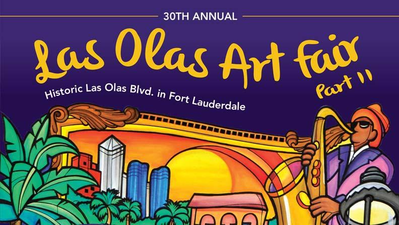 30th Annual Las Olas Art Fair Part II – March 3rd -March 4th, 2018