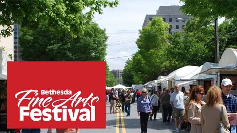 BETHESDA FINE ARTS FESTIVAL, May 12 – May 13